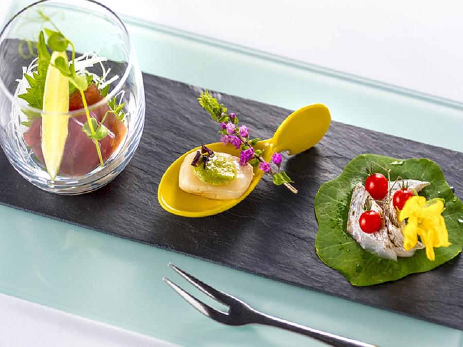 和洋のジャンルを超えた創作的な季節感あふれるお料理を。