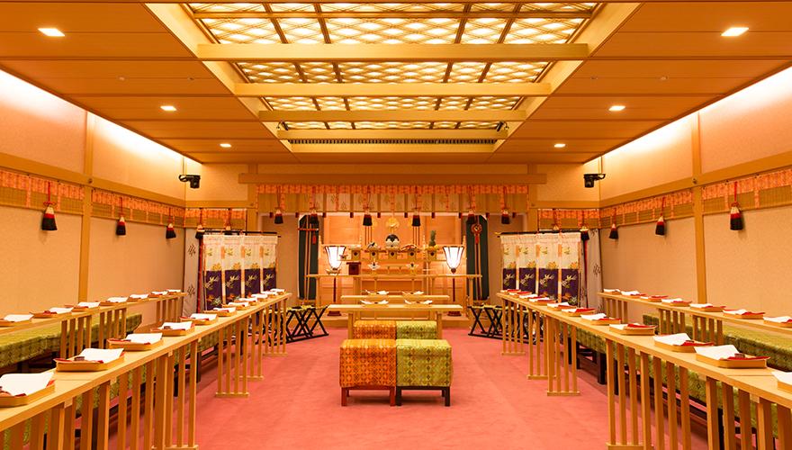 日本の歴史と伝統を感じながら永遠を誓う神聖な時。