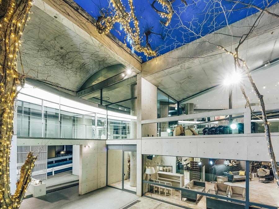 安藤忠雄氏によるモダン建築の傑作を一棟ごと貸切りに。