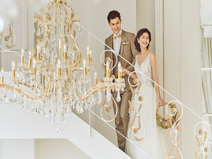 花嫁様の憧れを叶える【階段入場】