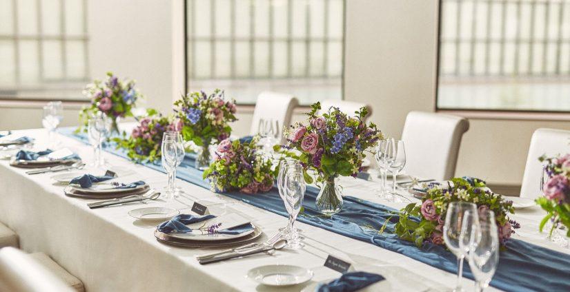 ご両家だけ、ご親族だけのような少人数のお食事会におすすめ。
