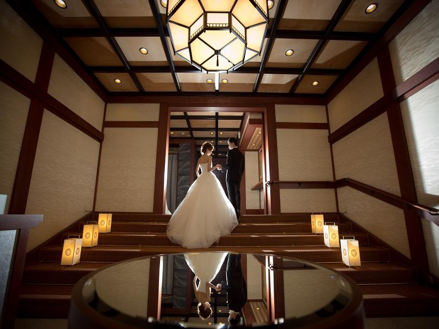 かつて国賓をもてなした本物の迎賓館を、婚礼当日は贅沢に一棟貸切に
