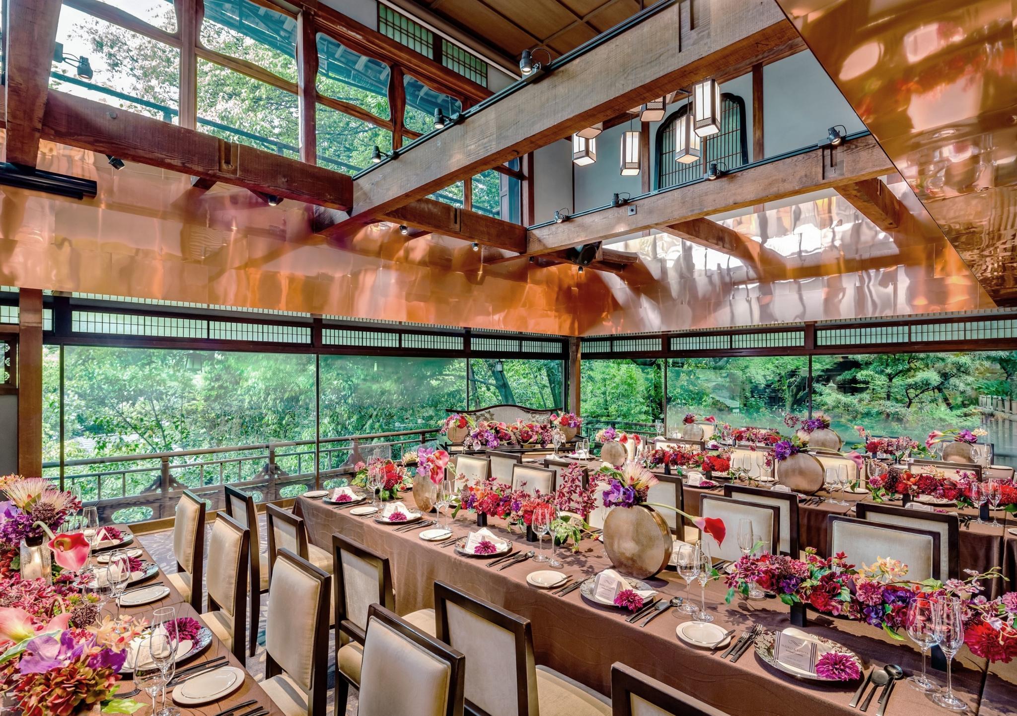 参列経験が多いゲストからも喜ばれそうな、京都らしい祝宴が叶う