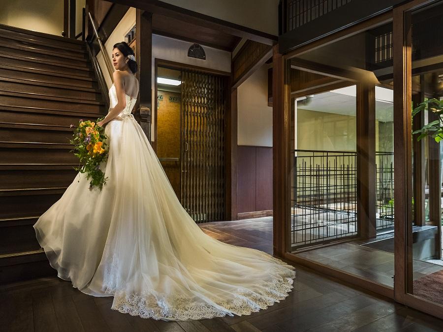 館内にある京都で2番目に歴史ある旧式エレベーターは、ゲストも喜んでくれるポイント