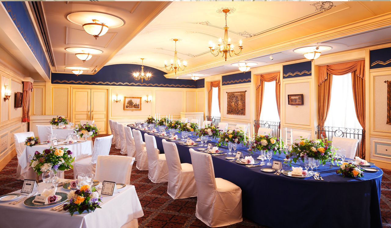 気品に満ちた空間でかなえる、ゲストすべての心に刻まれる、感動の祝宴