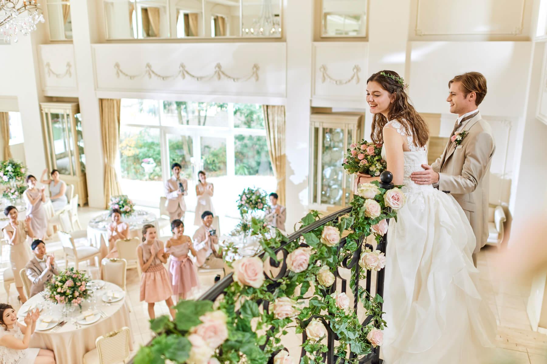 花嫁の憧れを詰め込んだロマンティックな空間