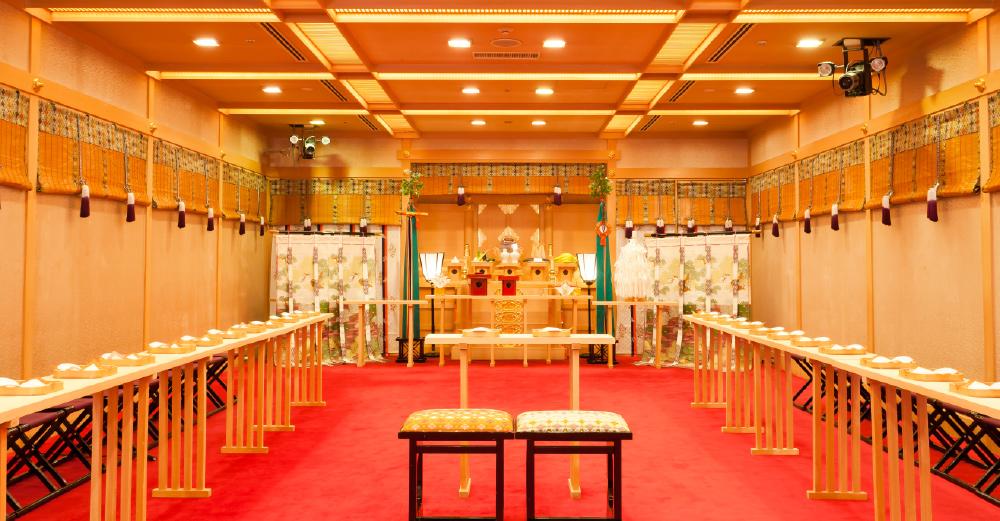 格式高い生田神社御祭神の分祀をうけた神殿で