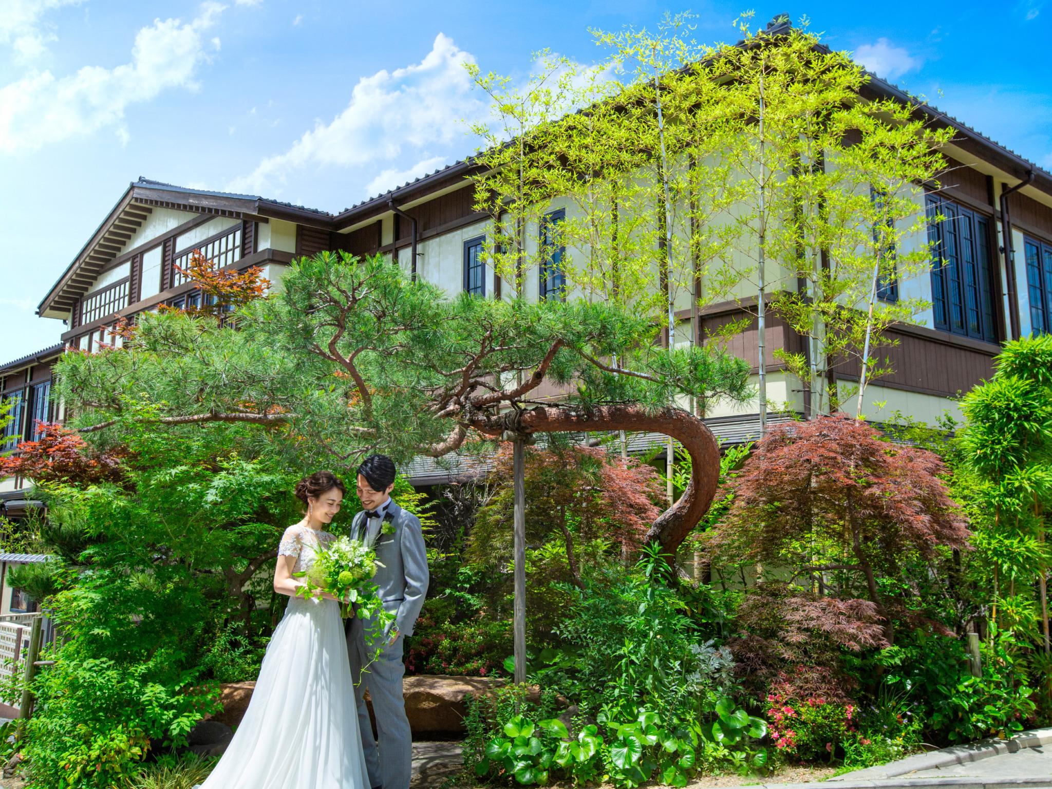 歴史的建造物が立ち並び風情ある 京都東山に佇む、和邸宅がおもてなしの舞台