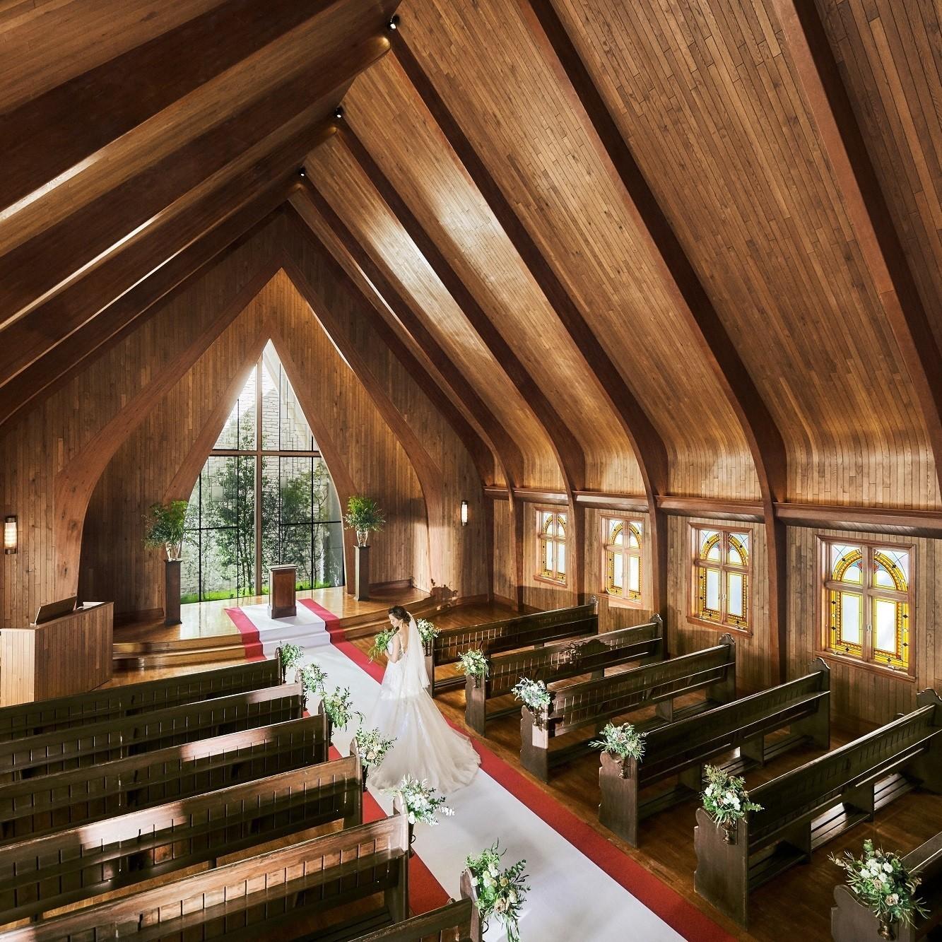 2019年3月、礼拝堂とガーデンが新しく生まれ変わりGRAND OPEN!